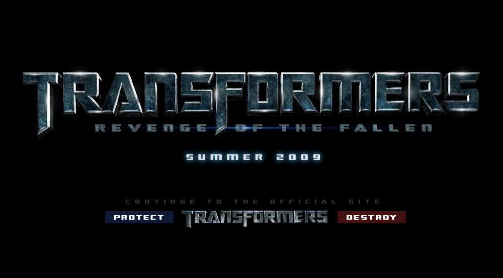 Transformers 2: La Revanche (2009) - Rumeurs/Actualités - Partie 2 - Page 4 Logo